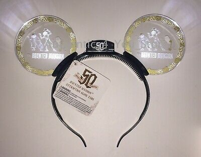 2019 Disney Parks Disneyland Haunted Mansion 50th Anniversary Light Up Headband