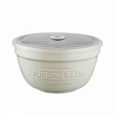 Kilner Ceramic Pudding Bowl with Lid - Hot/Cold Reusable Food Storage Container