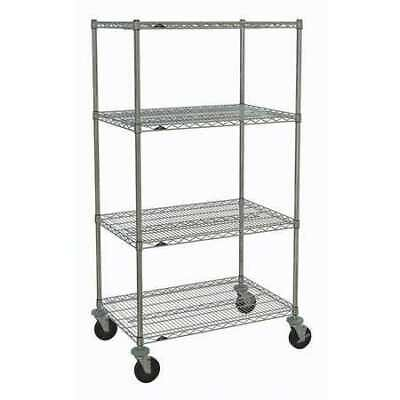 METRO PK1052 Wire Cart,24 In. W,36 In. L,Wire