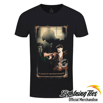 Official Peaky Blinders Shelby Brothers Shotgun T-Shirt