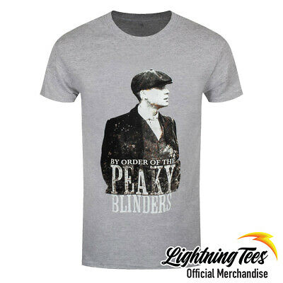 Official Peaky Blinders Shelby Brothers Character Grey T-Shirt