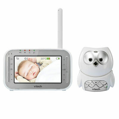 VTech Owl Video/Audio Baby Monitor BM4300 in White**FREE DELIVERY**