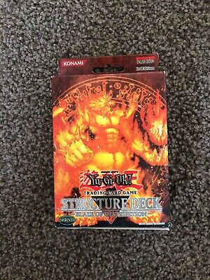 Yu-GI-Oh! - Blaze of Destruction - Structure Deck - 1st Edition - Factory Sealed