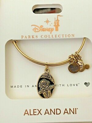2019 Disney ALEX AND ANI Haunted Mansion 50th Hitchhiking Ghost Ezra Bracelet
