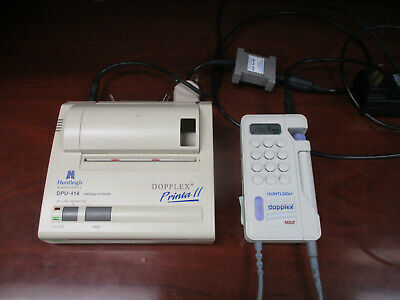 Huntleigh Dopplex MD2 Bi-Directional Doppler and Printa II Thermal Printer