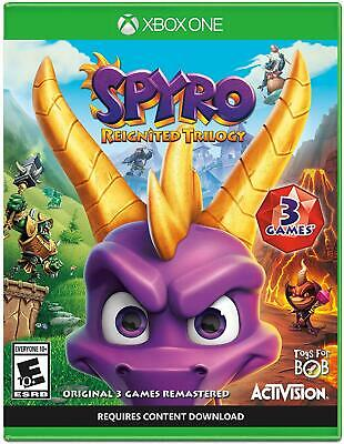 Activision Spyro Reignited Trilogy US Xbox One