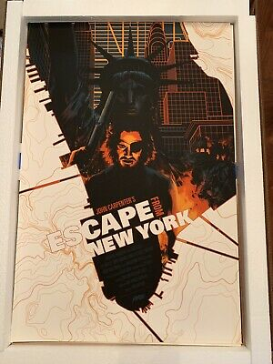Hot New Escape From New York Movie Silk 24x36Inch Custom Poster P-236