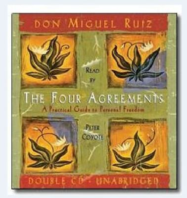 NEW!! The Four Agreements 2 Audio CDs By Don Miguel Ruiz