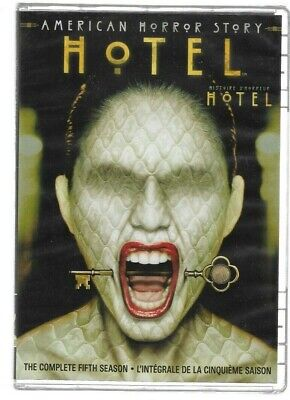 Brand New Sealed DVD - AMERICAN HORROR STORY - HOTEL Season 5 Also In French