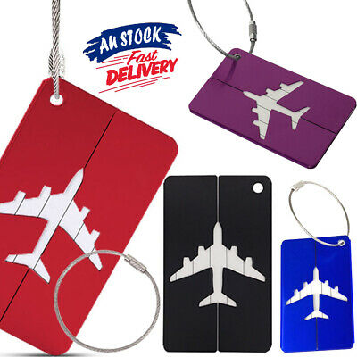 Bag Identity Suitcase Travel Baggage Address Name Labels Luggage Tag Aluminium