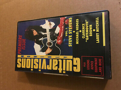 Guitarvisions Monthly Premiere VHS Zine Vol 1