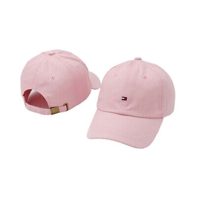 unisex Tommy Baseball Cap Black White Pink Classic.free postage.on supper sale .