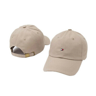 Tommy Cap Classic Baseball Black Blue Pink Beige One Size Free Postage SALE New