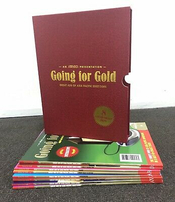 AWARD 'GOING FOR GOLD' BOX SET (Great ads of ASIA 2007-08) COLLECTORS 8 ISSUES