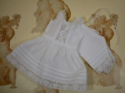 """Antique-style Petticoat Set for 10 1/2""""(26.5-28cm) French or German Antique Doll"""