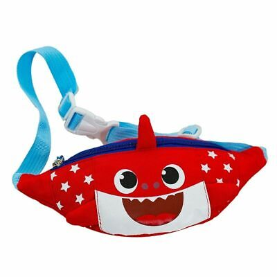 Kids Fanny Pack Adjustable Waist Strap Children Cartoon Canvas Zipper Chest Bag