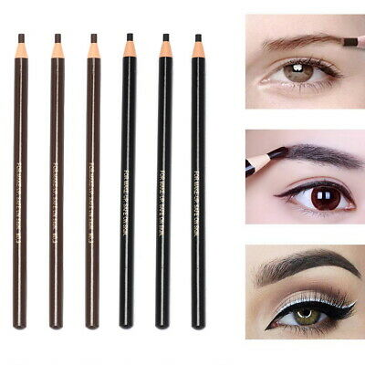 Eyebrow Pencil Tattoo Makeup Microblading Outlining Waterproof Permanent Liner