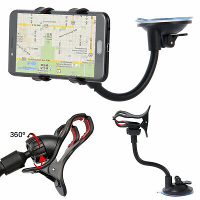 360° Universal In Car Windscreen Dashboard Phone Holder Mount GPS Cellphone