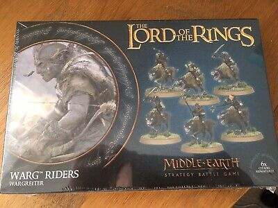 Games Workshop Unopened Lord of the Rings Warg Riders