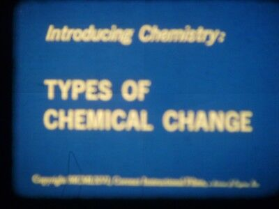 Types Of Chemical Change 1966 16mm short film Documentary
