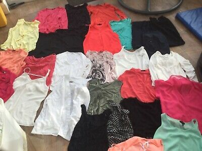 Ladies blouses, trousers, tops size 12, ideal for office or work wear, large lot