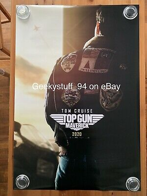 Top Gun Maverick DS Theatrical Movie Poster 27x40