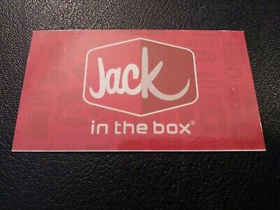 Jack in the box  Combo Meal Voucher, NO EXPIRATION, Shipping 1 Business Day