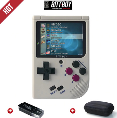 BittBoy V3.5 Retro Video Game Console Handheld 8GB 32GB Memory with Carry Bag 🎮