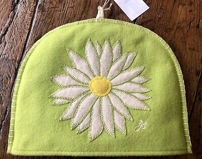 Jan Constantine embroidered felt tea cosy Daisy NEW with tag