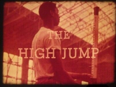 Track and Field Instruction Series: The High Jump 1960 16mm Documentary