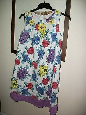 girls mini boden lined DRESS  11-12 years worn once