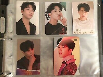 SF9 Rowoon Jaeyoon Zuho Chani 5th Mini Album Sensuous photocard