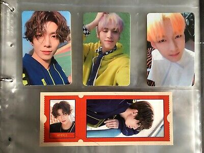 SF9 Hwiyoung Taeyang Zuho 4th Mini Album Mamma Mia! photocard