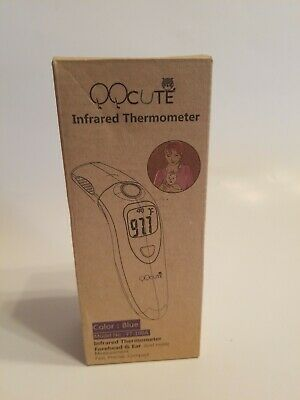 QQCute Digital Infrared Forehead & Ear Thermometer FT-100A