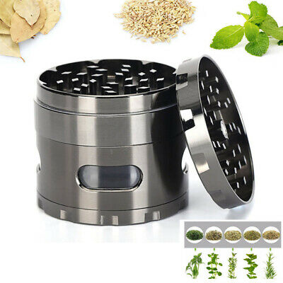 4-Layer Herb Grinder Tobacco Alloy Metal Hand Cutter Herbal Smoke Muller Crusher