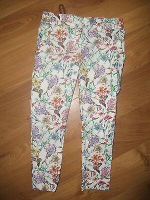 next  GIRLS  floral trousers 6 years