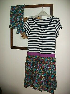 next girls dress and matching leggings  - outfit 12 years