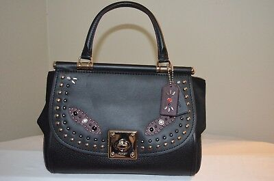 $795 NWT COACH  western rivets drifter carryall glovetanned leather 57120