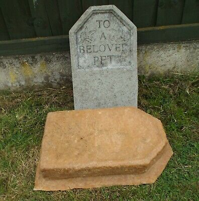 To a Beloved Pet Headstone > latex mould
