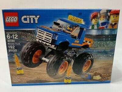 LEGO City Monster Truck 60180 Building Kit (192 Piece)  NEW SEALED