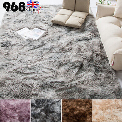 Anti-Skid Shaggy Rugs Floor Carpet Home Room Bedroom Area Rugs Soft Large Rug UK