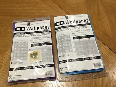 CD Wallpaper, holds 48 cds, ideal for office, dorm or home