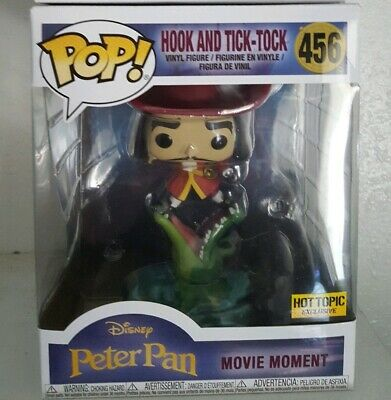 Funko Pop Movie Moment HOOK and TICK-TOCK #456 Hot Topic Exclusive