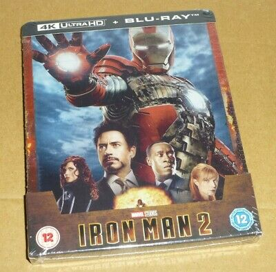 Iron Man 2 : 4K Ultra HD + Blu-ray, STEELBOOK UK Limited Ed, Marvel, Pre-order