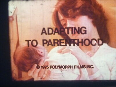 Adapting To Parenthood 1975 16mm short film