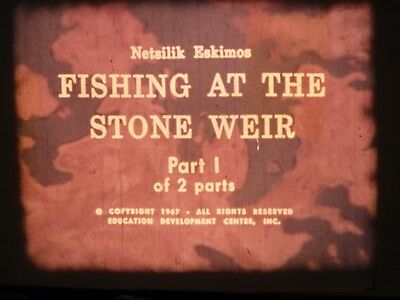 Fishing At The Stone Weir Part 1  1967 16mm short film