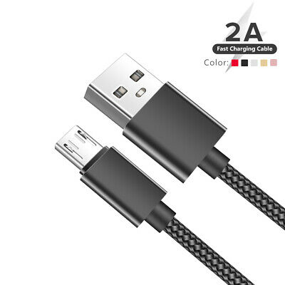 Fast Charger Heavy Duty Micro Usb Type C Lightning Cable For Apple Ios Android