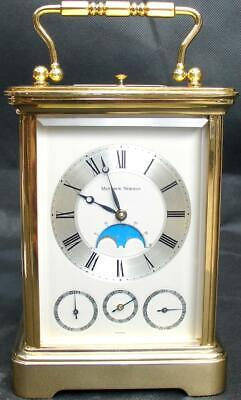 Matthew Norman 1781 8 Day Date Moonphase Repeater Carriage Clock