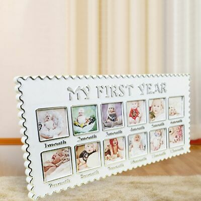 Baby Growth Memorial Photo Picture Frame My First Year Newborn 12 Months Gifts
