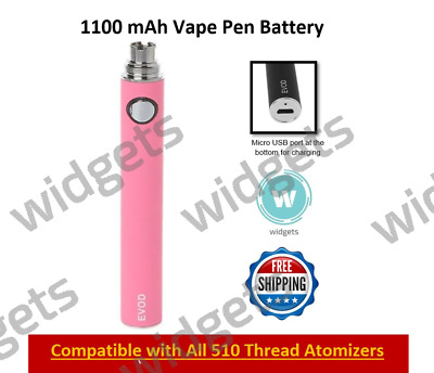 EGO T-REPLACEMENT 1100MAH Battery Vape-pen Rechargeable 510 Thread
